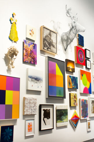 """""""Deck the Walls!"""" - Group Exhibition, installation view"""