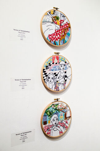 Stitched: Part I, installation view