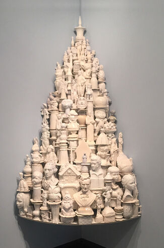 PORCELAINIA: East Meets West at Cross MacKenzie Gallery in Washington, DC., installation view