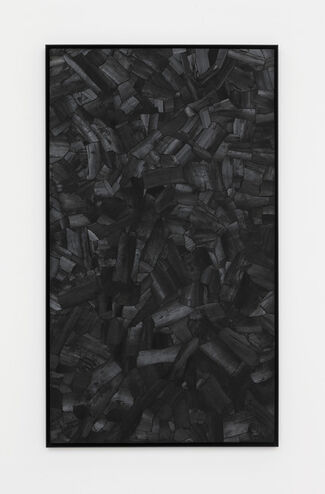 """LEE BAE """"BLACK MAPPING"""", installation view"""