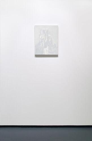 Michael Brennan: Grey Razor Paintings, installation view