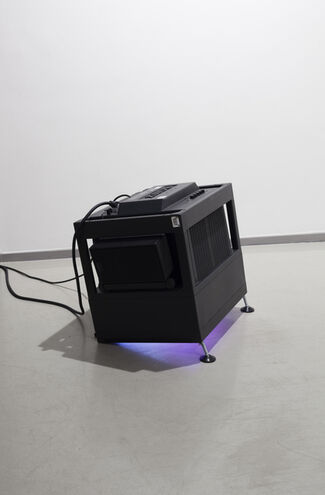 ...and the stage darkens (or this voice is a big whale), installation view