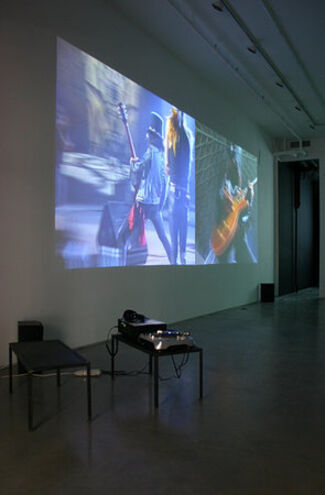 """Cory Arcangel - """"subtractions, modifications, addenda, and other recent contributions to participatory culture"""", installation view"""