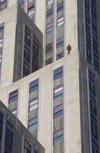 Antony Gormley: Event Horizon, installation view
