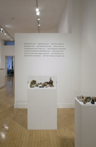 Nigel Poor: Remainders- God, Sex and Animals Talking, installation view