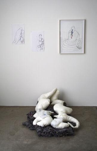 "Carola Bonfili ""Triple Sun"", installation view"