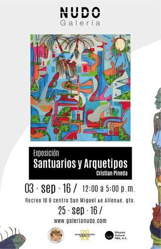 Santuarios y Arquetipos, installation view