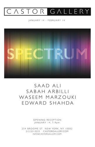 Spectrum, installation view