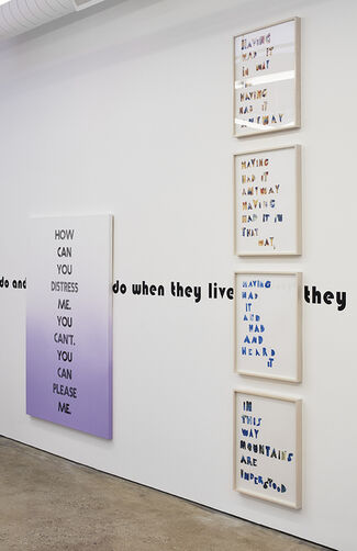 EVE FOWLER | THE DIFFERENCE IS SPREADING, installation view