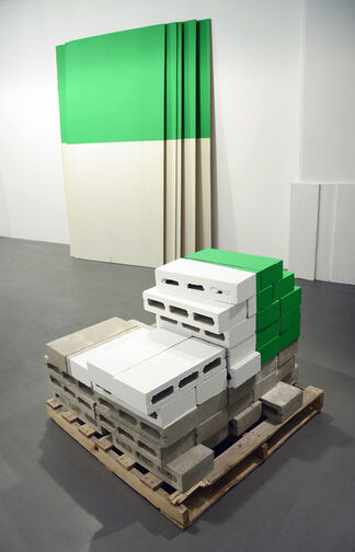 Russell Maltz: The Ball Park Series, 1977-2012, installation view