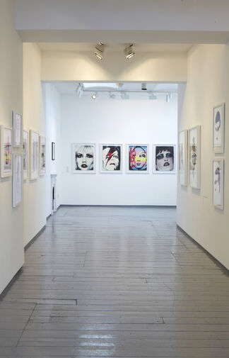 John Dove and Molly White - Face to Face: Drawings, prints and collages 1968-2012, installation view