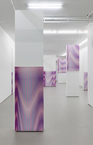 Philippe Decrauzat: pour tout diviser., installation view