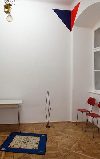 MANFRED PERNICE - dosen,casetten,Zeugs, installation view