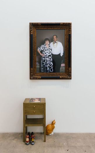 DEEP END: Yale MFA Photo 2014 (curated by Awol Erizku), installation view