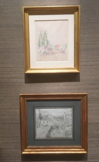 Masters Drawings New York, installation view