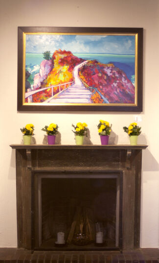 Beyond Chroma - Frank Balaam and Angus, installation view