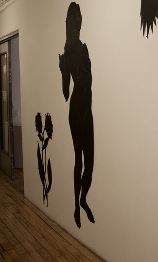 Silhouette Voices, installation view