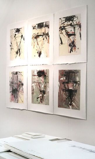 galerie 103 at Art on Paper 2015, installation view