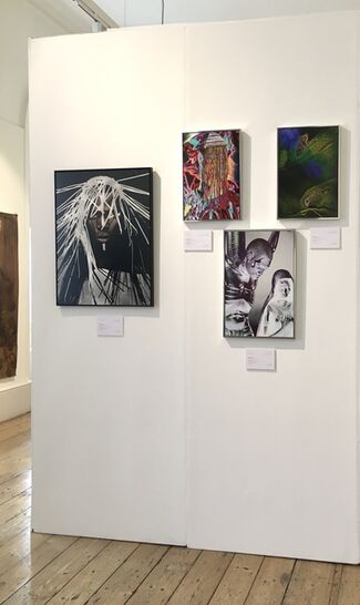Boogie Wall at 1-54 London 2020, installation view