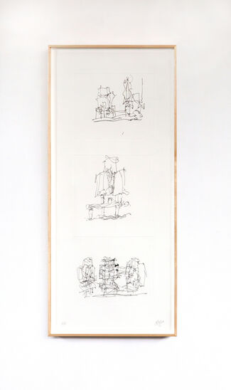 Frank Gehry, installation view