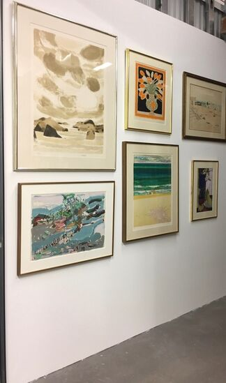 School of Paris Lithographs, installation view