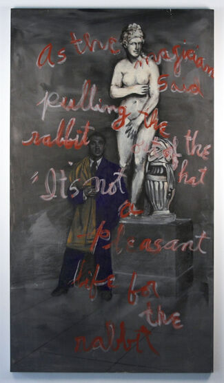 Rene Ricard: Sonnets from the Portuguese, installation view