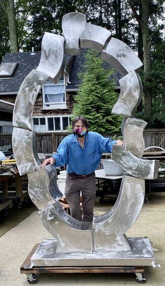 Hans Van de Bovenkamp in a Hamptons Sculpture Tour, installation view