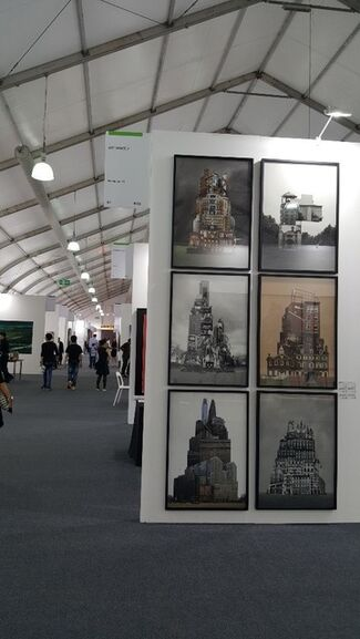 Art Space J at Art Central 2017, installation view