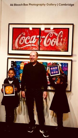 Bleach Box at  Affordable Art Fair Battersea Autumn 2017, installation view