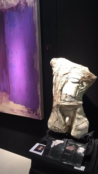 BOCCARA ART at Palm Beach Jewelry, Art & Antique Show 2018, installation view