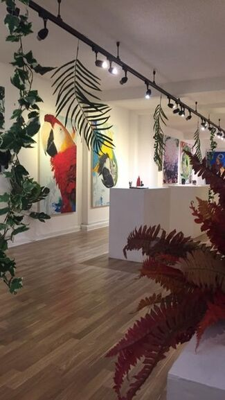 """""""Jungle Fever"""", installation view"""