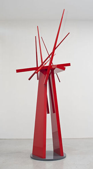 John Henry: Mostly Red, installation view