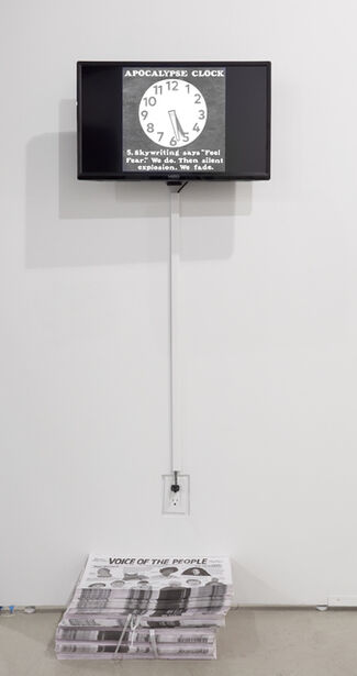 Over the Influence at Art Los Angeles Contemporary 2019, installation view