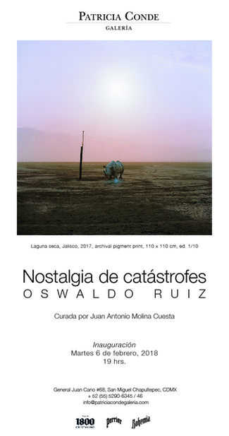 Nostalgia de Catástrofes, installation view