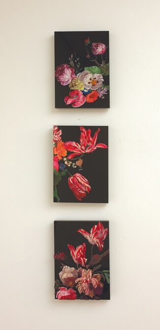 James McGrath - Ocular/Fleurs, installation view