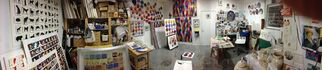 Rebecca Hossack Art Gallery at Art on Paper 2015, installation view