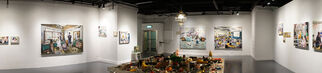 Art Experience Gallery at Art Central 2017, installation view