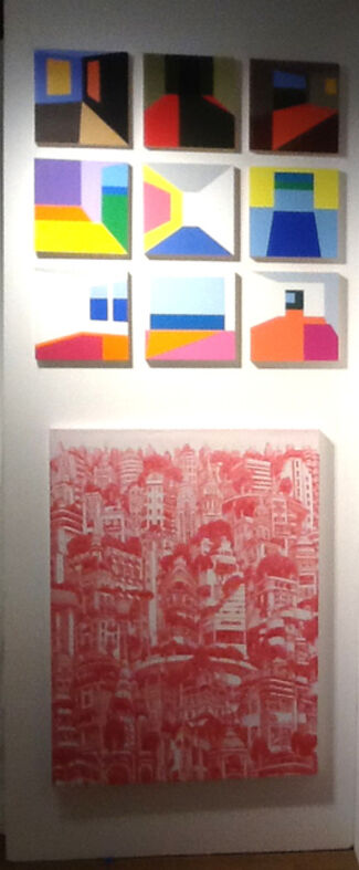 Elisa Contemporary at Affordable Art Fair New York City 2014, installation view