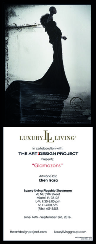 Isaza: Photographs at the Luxury Living Flagship Showroom, installation view