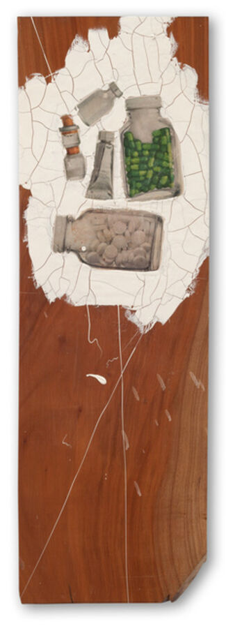 Gianfranco Baruchello. Round trip, installation view