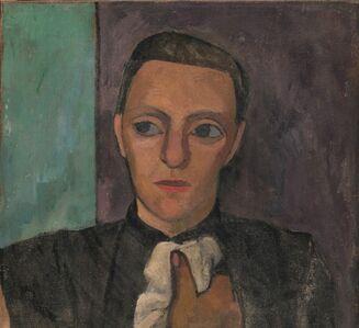 Paula Modersohn-Becker, 'Buste d'une Femme en Noir au Mouchoir ', Spring 1906