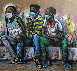 Semi Lubisi, 'The New Begnnings I', 2020