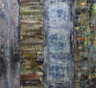 Hilario Gutierrez, 'Inside The Mountain - Quadtych'