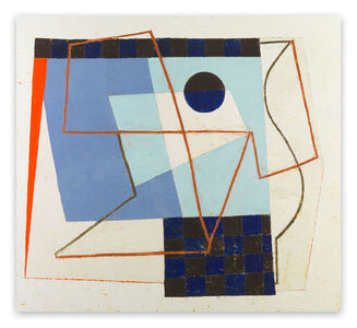 Jeremy Annear, 'Sonar Blue III (Abstract painting)', 2011