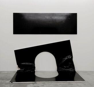 Steven Parrino, 'The Self Mutilation Bootleg 2 (The Open Grave)', 2003