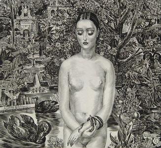 Albert Decaris, 'The Andalusian [Séville - (La danseuse andalouse)]', ca. 1931