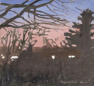 Fairfield Porter, 'Twilight ', 1975