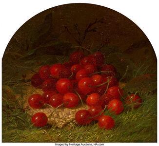 Robert Spear Dunning, 'Still Life with Cherries', 1866