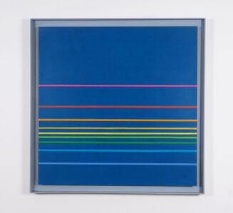 Henryk Stażewski, 'farbige komposition nr. 37-1974', 1974