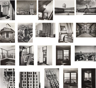 Giorgio Vasari, 'Twenty photographs of the Torre Velasca, Milan', 1956-1958